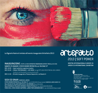 Artefatto 2013 Soft Power